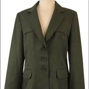 Anne Klein Women's Green Blazer